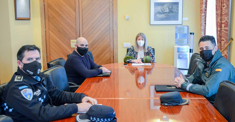 Continúan las reuniones de coordinación en materia de salud pública entre Ayuntamiento de Tomelloso, Policía Local y Guardia Civil