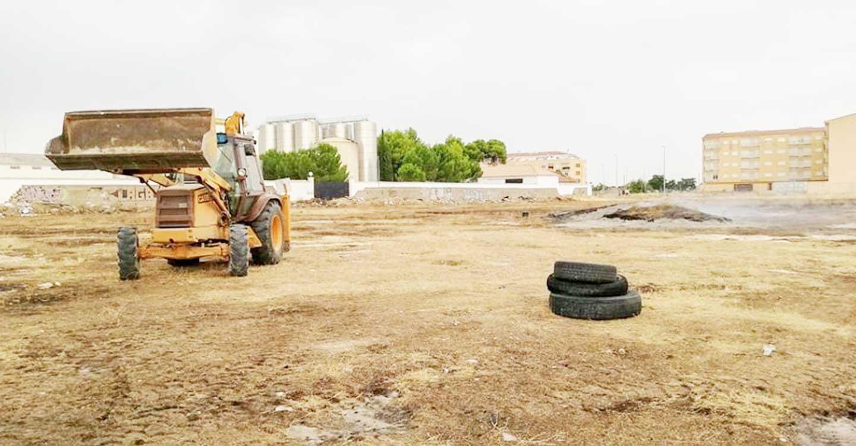 Continúan los trabajos para erradicar las molestias a los vecinos del entorno de la antigua RENFE