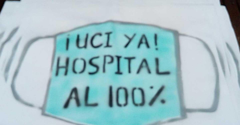 """La Coordinadora por la Sanidad Pública en la Comarca de Tomelloso ve """"difícil de entender"""" que no se dote al hospital de camas UCI, tras las secuelas del COVID-19 en la zona"""