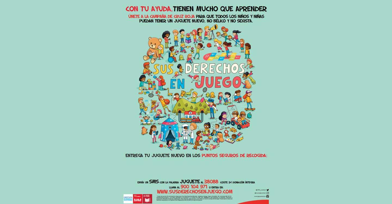 Cruz Roja Juventud reparte juguetes a 200 niños de Tomelloso