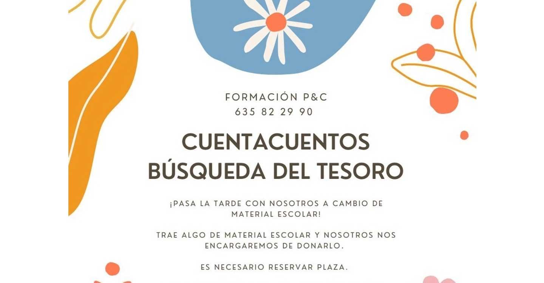 Formación P&C realizará en Tomelloso un Cuentacuentos Solidario llamado :