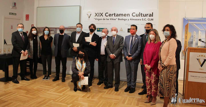 La unión de la cultura del vino con el periodismo, la pintura y la escultura señas de identidad de la XIX edición del Certamen Cultural