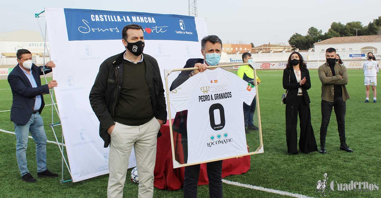 El deporte de Tomelloso rinde homenaje a Pedro Granados