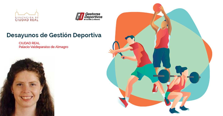 La tomellosera Marta García Tascón participará en el Desayuno Provincial de Gestión Deportiva en Almagro