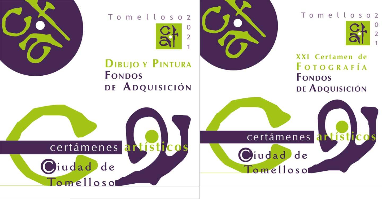 Obras premiadas y seleccionadas en los Certámenes Artísticos de la Ciudad de Tomelloso 2021