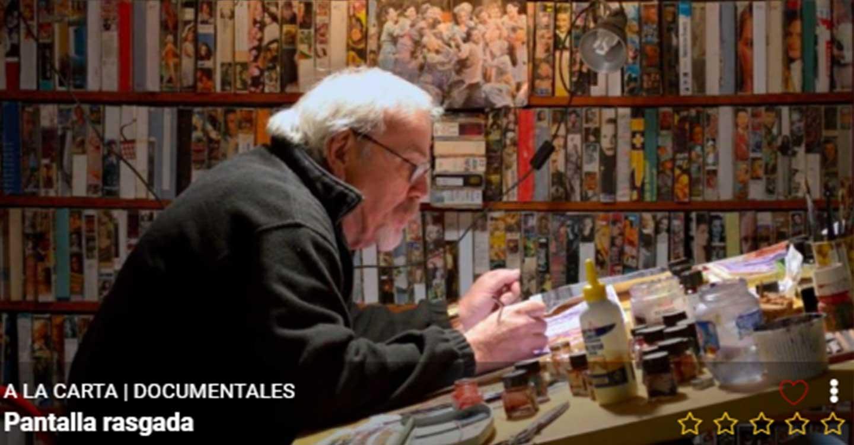 La televisión de CMM y CMMPLAY emiten un documental sobre Marcelo Grande, pintor y gran profesional del cine fallecido en Tomelloso