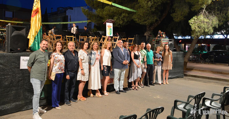 El Barrio Maternidad inaugura sus fiestas  con un pregón del Presidente de la Hermandad Virgen de las Viñas,  Alejandro Ramírez.