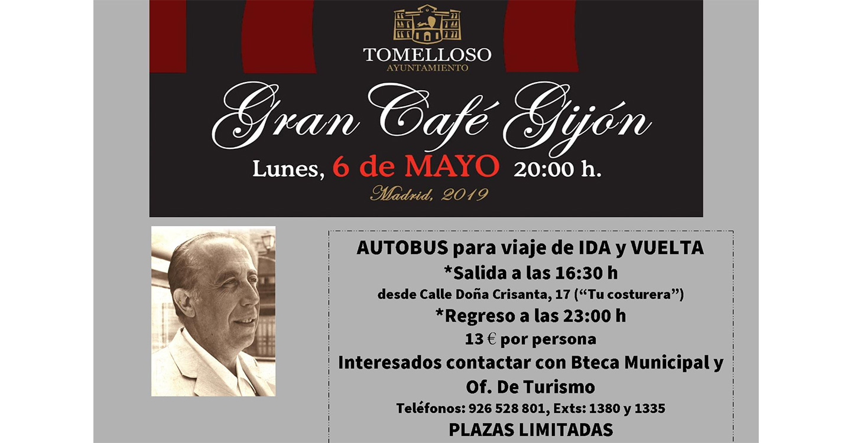 El Café Gijón de Madrid acogerá el lunes una tertulia homenaje a García Pavón