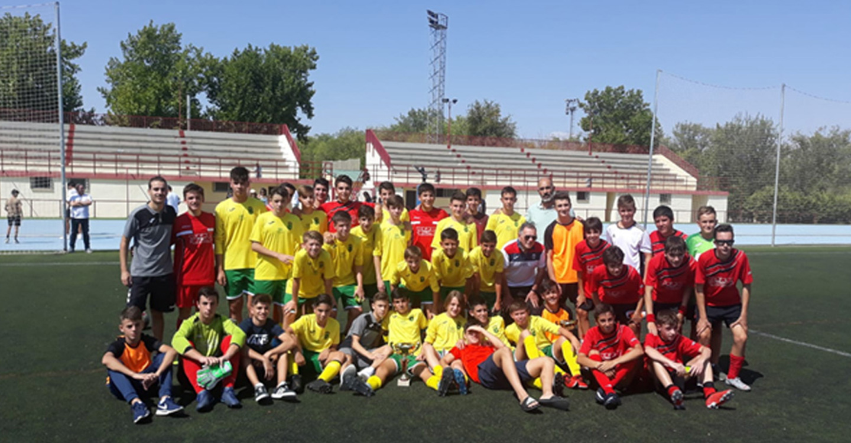El C.D Fútbol Base se impuso al Mota del Cuervo en el Torneo de Feria