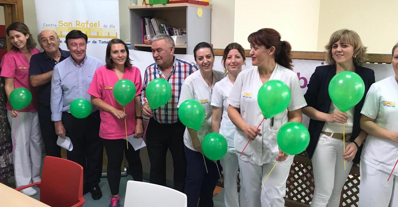 El Centro de Día San Rafael de Tomelloso da lectura al manifesto común con motivo del Día Mundial del Alzheimer