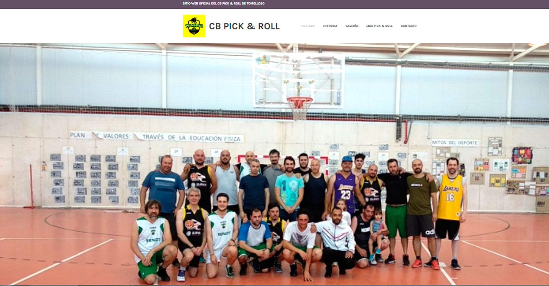 El Club de Baloncesto Pick & Roll de Tomelloso estrena página web