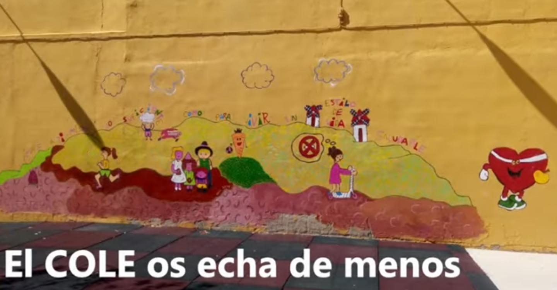 El CEIP Miguel de Cervantes de Tomelloso lanza un vídeo cargado de emoción y sentimiento para el alumnado con un mensaje claro