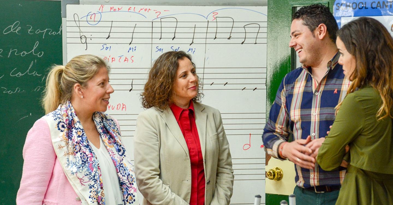 El colegio San Isidro ya disfruta de las mejoras que han llegado a través del Plan Municipal de Inversiones