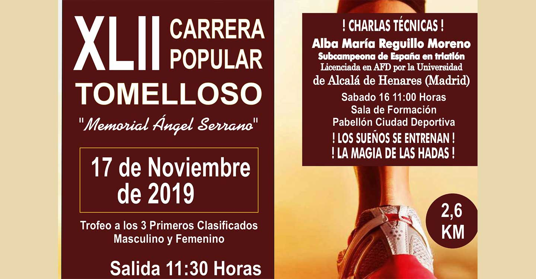 El domingo 17 se celebrará la XLII Edición de la Carrera Popular de Tomelloso