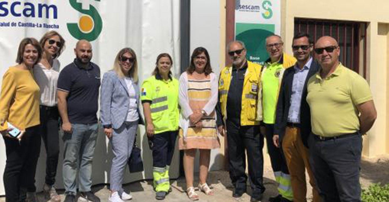 El Gobierno de Castilla-La Mancha dota a Tomelloso y su comarca de nuevas dependencias para la UVI móvil