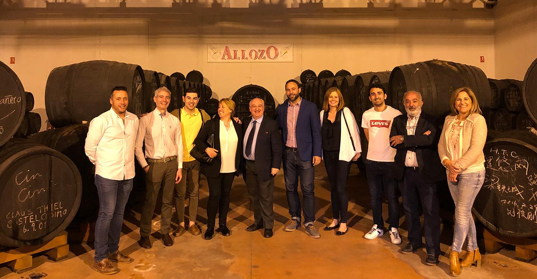 El Partido Popular de Tomelloso visita Bodegas Centro Españolas
