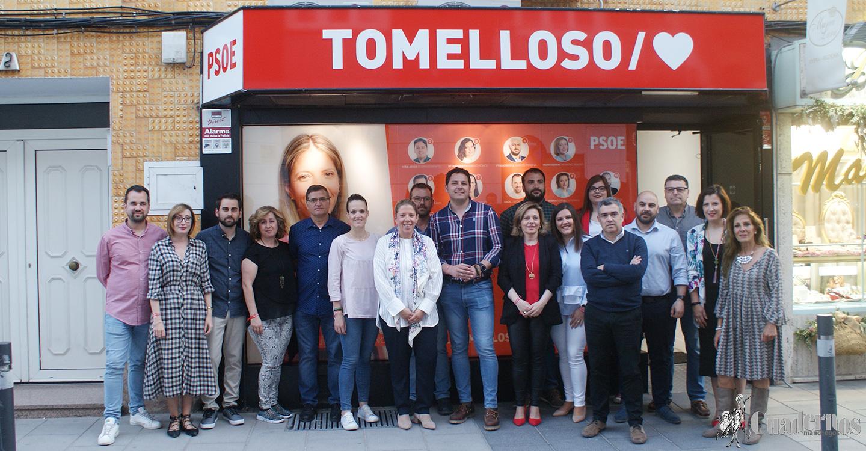El Partido Socialista inaugura la sede de campaña para las próximas elecciones municipales del 26 de Mayo