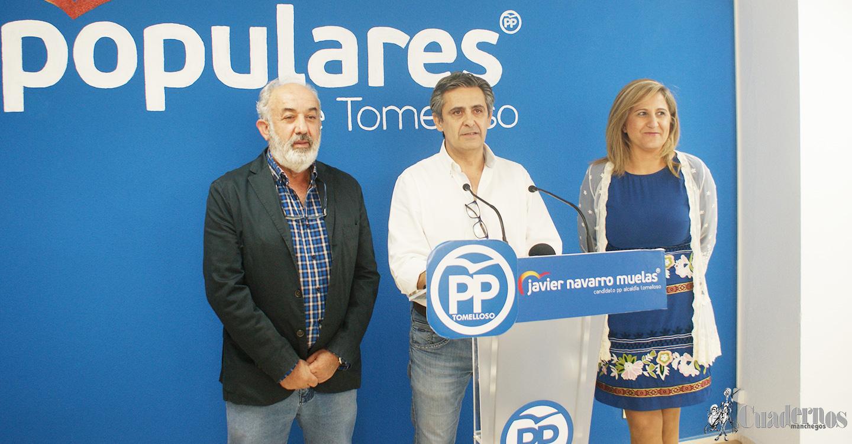 Eloisa Perales López y José Márquez Arcas serán los números 3 y 4 de las listas del PP de Tomelloso para las próximas elecciones del 26 de mayo