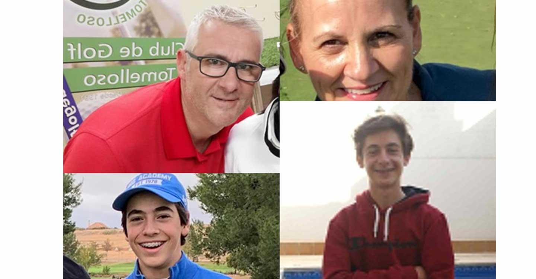 Emilio Salinas, Raúl Aliaga y María Dolores Cano,  ganadores de la Orden de Mérito del Club de Golf Tomelloso