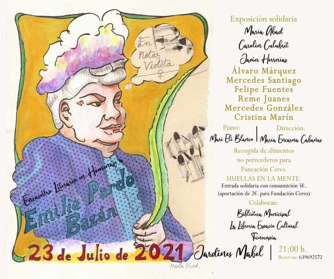 Encuentro Literario en Tomelloso para homenajear a Emilia Pardo Bazán
