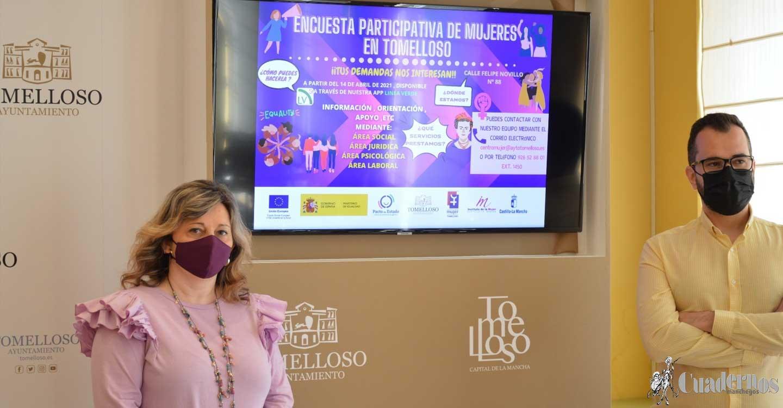 El Centro de la Mujer pone en marcha en Tomelloso una Encuesta Participativa para conocer preferencias de las mujeres sobre formación, orientación y apoyo