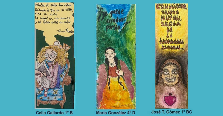 El IES Eladio Cabañero de Tomelloso entrega los premios del concurso de Marcapáginas