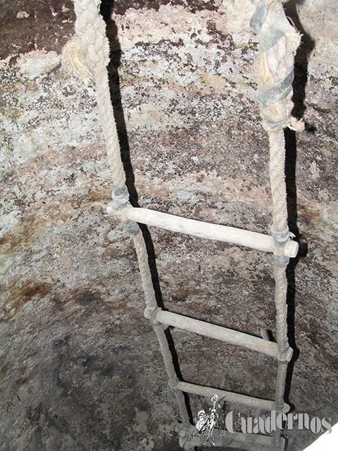 Escalera de palos Cuevas Tomelloso