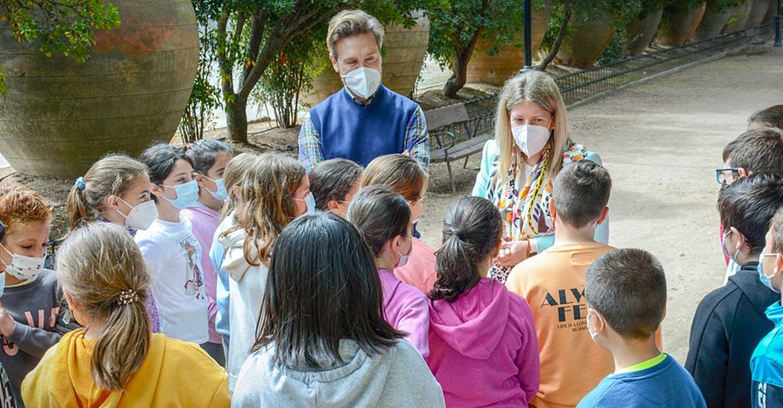Los escolares de Tomelloso celebran el Día del Árbol