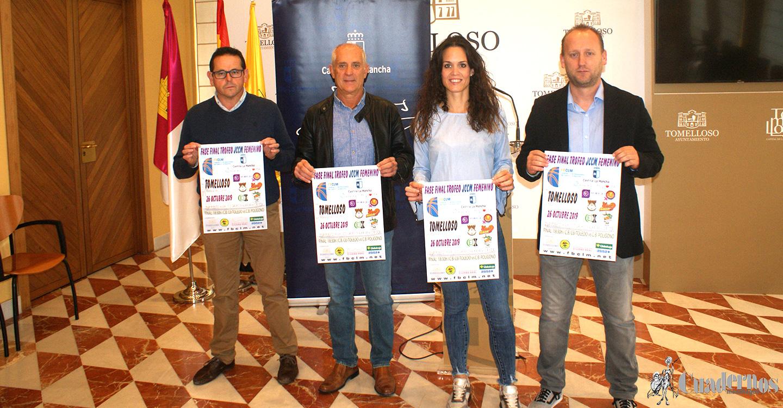 Este sábado tendrá lugar en Tomelloso la fase final del Trofeo Junta de Comunidades de Castilla-La Mancha de baloncesto femenino