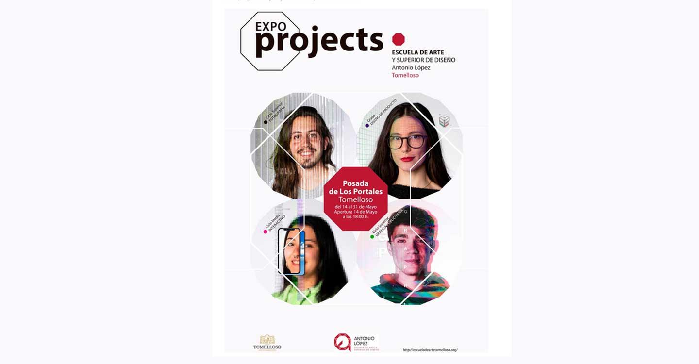 Alumnos de la EASDAL de Tomelloso exponen sus proyectos en la Posada de los Portales bajo el título