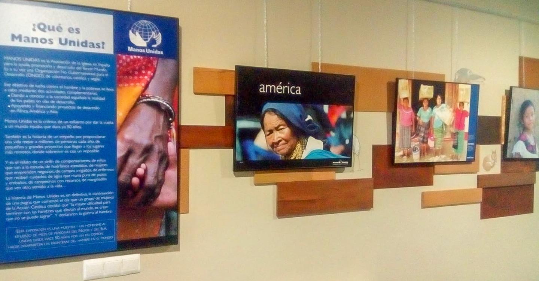 Exposición de Manos Unidas en el Centro Joven de Tomelloso