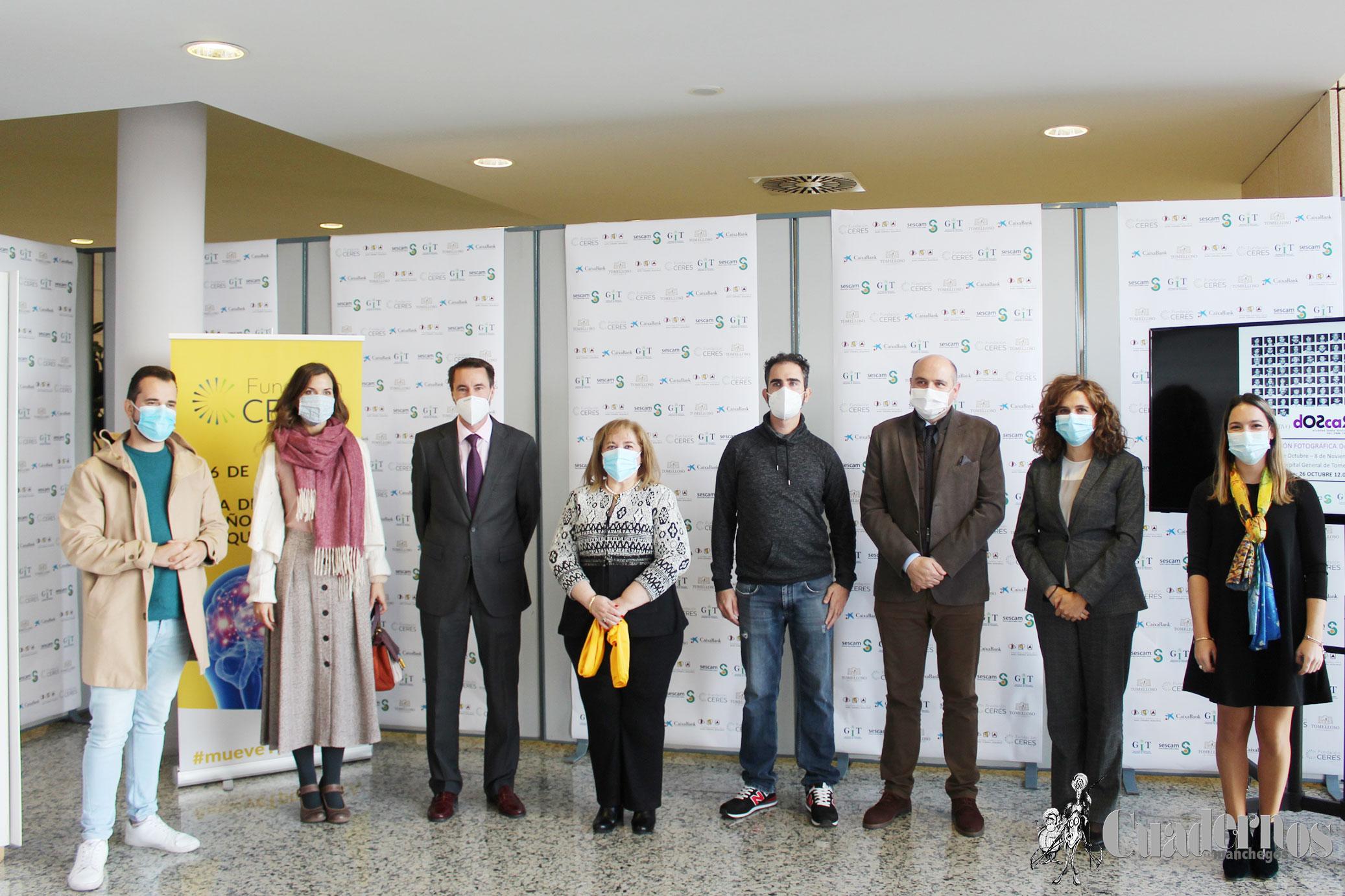 """La exposición """"Dos Caras"""" queda inaugurada en el Hospital de Tomelloso en el """"Día Nacional del Daño Cerebral Adquirido"""""""
