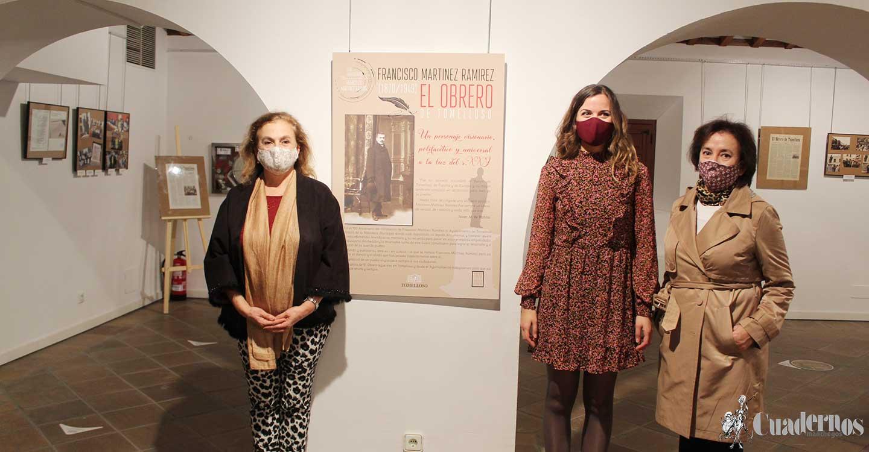La Posada de los Portales de Tomelloso acoge la exposición que rinde homenaje al 150 aniversario del nacimiento de Francisco Martínez Ramírez :
