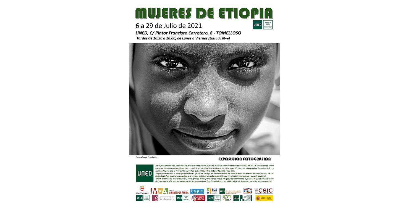 """La UNED de Tomelloso acoge la exposición fotográfica """"Mujeres en Etiopía"""""""