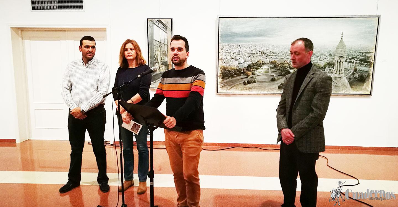 Brillante exposición del pintor José Ramón Jiménez López en el Museo López Torres
