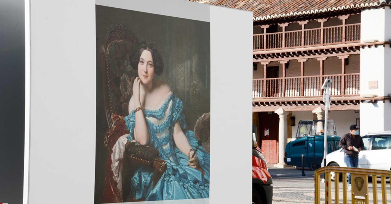 """La exposición """"El Prado en las calles"""" en Tomelloso incluye visitas guiadas todos los días previa petición"""