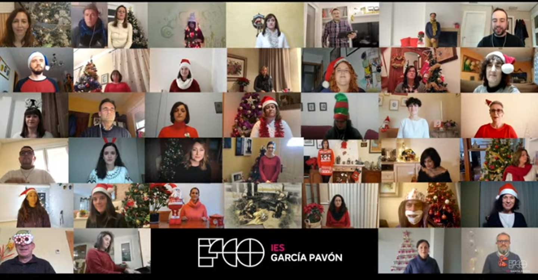 """El Coro Virtual del Profesorado del IES Francisco García Pavón de Tomelloso felicita las navidades con el villancico """"El tamborilero"""""""