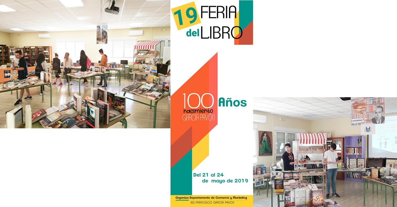 XIX Feria del libro en el IES Francisco García Pavón