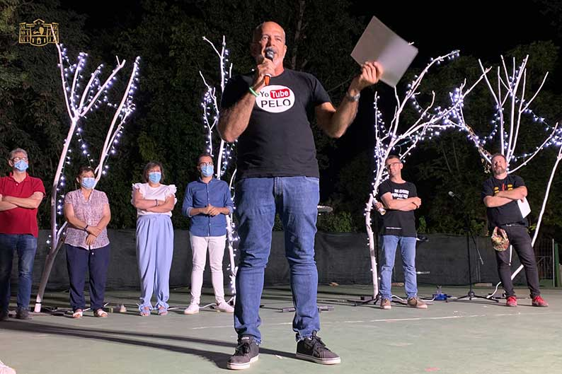 """El cómico gaditano Fernando Bernal logra el primer premio del XI Certamen Nacional de Monólogos de Humor """"En Tomelloso, contamos todos"""""""