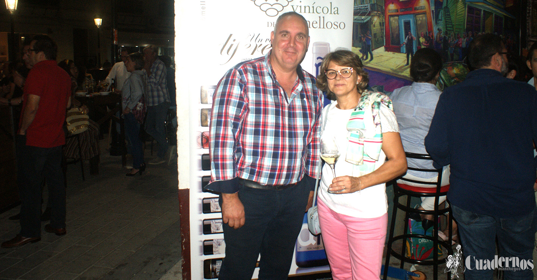Vinícola de Tomelloso celebra el fin de la vendimia con la degustación de sus vinos en el Rinconcito