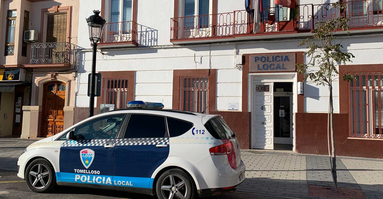 Policía Local y Guardia Civil desalojan una fiesta ilegal en Tomelloso en la que participaban 30 jóvenes