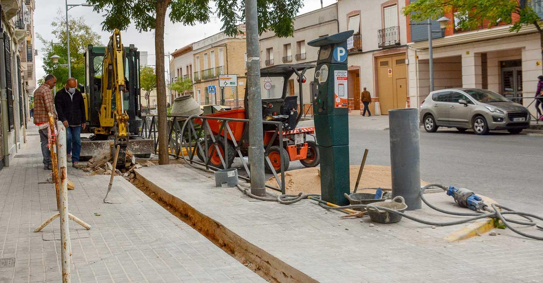 Finaliza con la calle Socuéllamos el proyecto de renovación de redes de riego 2020 en Tomelloso