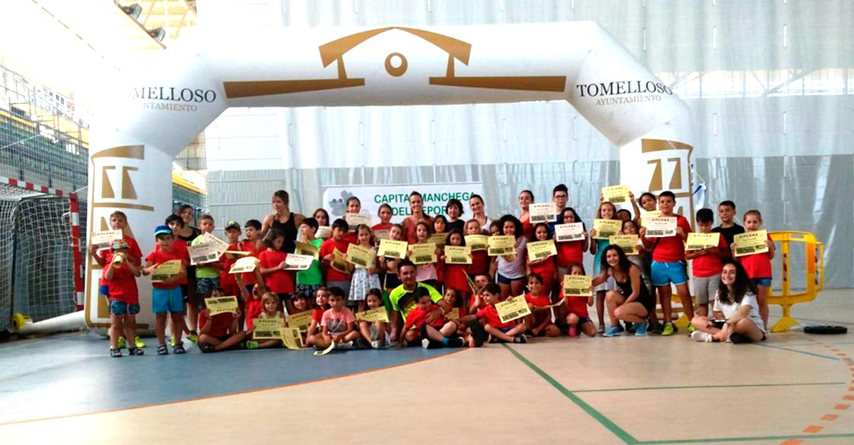 Finaliza el primer turno el Peque Verano, en el que han participado 50 niños y niñas de 5 a 11 años