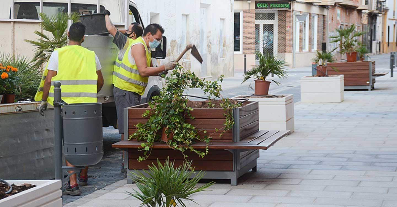 Se dan por finalizadas las obras de rehabilitación de las calles Palma y Azucena en la localidad de Tomelloso