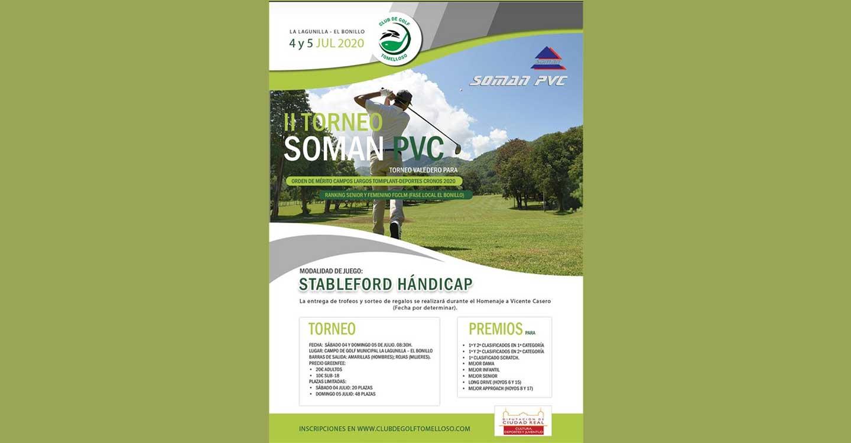Finalizado el II Torneo Soman PVC organizado por el Club de Golf Tomelloso