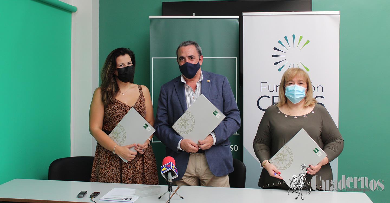 Firmado hoy en Tomelloso el convenio de colaboración entre la UNED y Fundación Ceres