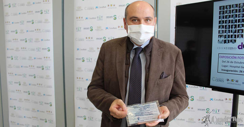 Francisco Javier García Sánchez ratifica la validez de las mascarillas repartidas por el Gobierno de Castilla-La Mancha