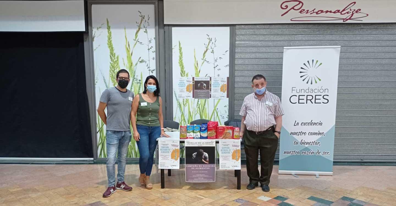 El pueblo de Tomelloso responde a la llamada de solidaridad de Fundación Ceres