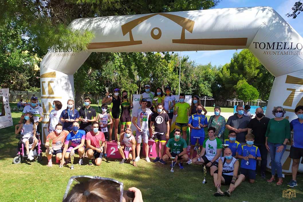 Intenso fin de semana deportivo en Tomelloso con el fútbol base y el triatlón como protagonistas