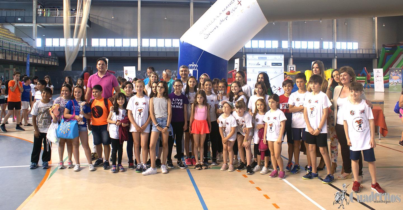 """Gran éxito del programa: """"Somos Deporte"""" de la Dirección Provincial de Educación, Cultura y Deportes con participación de 435 alumnos de cuatro localidades."""